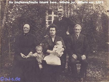 Familie Evers 1923